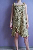 Ночная рубашка Анжелика леопардовая с 52 размера, фото 1