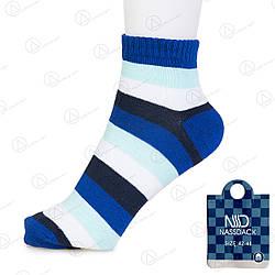 Яркие полосатые носки мужские Nassdack 1004-5drn