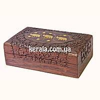 Шкатулка Индийская из дерева