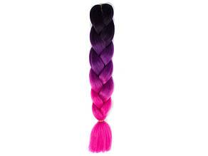 Канекалон Омбре MC50 для плетения косичек пряди накладные цветные