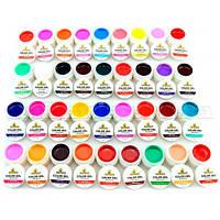Набор гель-красок GDCOCO, 36 ярких цветов ОТПРАВКА БЕЗ ПРЕДОПЛАТЫ!