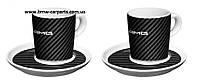 Набор из двух чашек для эспрессо Mercedes-Benz Espresso Cups, Set of 2, AMG