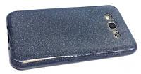 Чехол 3in1 Блёстки для  Samsung J700 (J7) dark grey