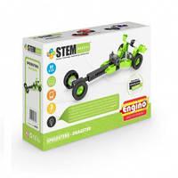 Конструктор серии STEM HEROES Спортивные автомобили: драгстер