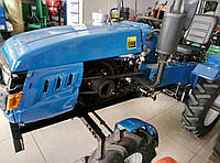 Мототрактор Лидер Т-180 люкс, 18 к.с + посилена фреза 1,4 м. та плуг, потужний генератор