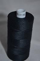 Поліестрова нитка Talia 120 Чорний 5000м