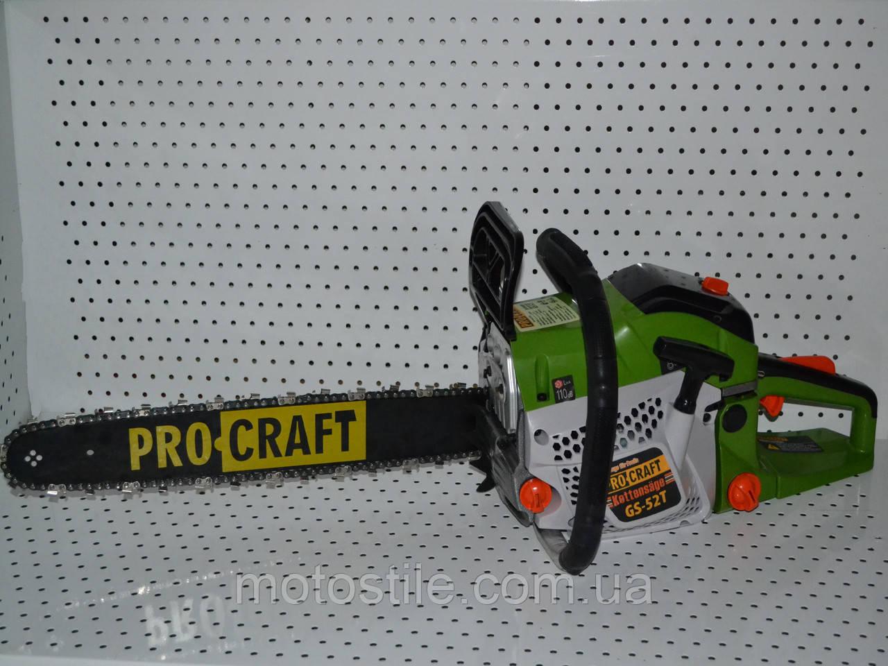 Бензопила ProCraft GS-52T