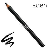 "Aden Black Eyeliner Pencil ""DEVIL"" Карандаш для глаз деревянный ""Чёрный"", фото 1"