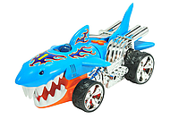 Моторизированная машина Акула Hot Wheels Extreme Action Light and Sound Sharkruiser Оригинал США