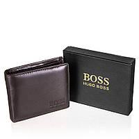 Мужской кошелек Hugo BOSS Black (WLT-BRN-3005)