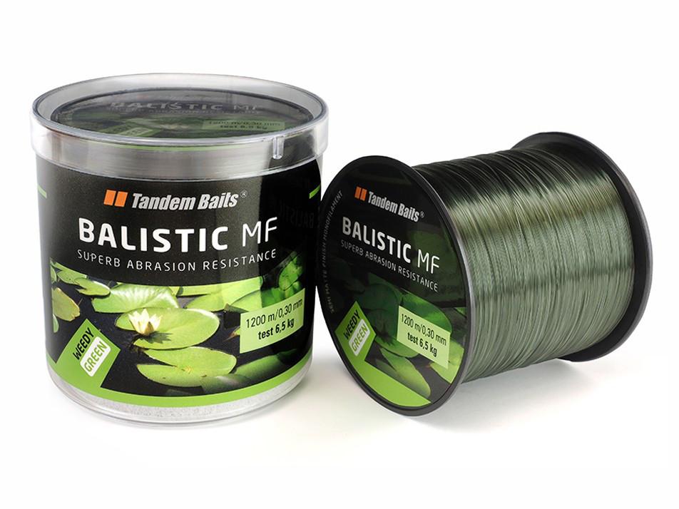 Леска Tandem Baits Balistic MF 1100 m 0,35 mm Weedy green