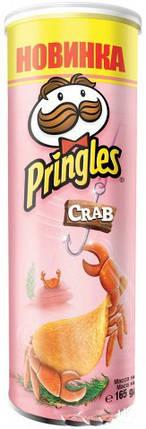 Чипсы Pringles Crab Краб 165 г, фото 2
