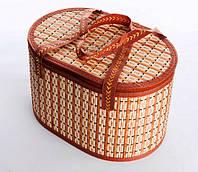 Сумка-корзина складная бамбуковая М-4, вес до 10 кг