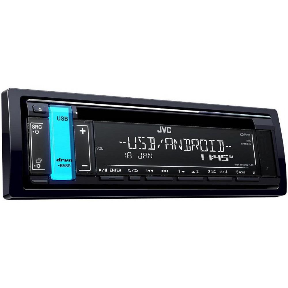 CD/MP3-ресивер JVC KD-R491