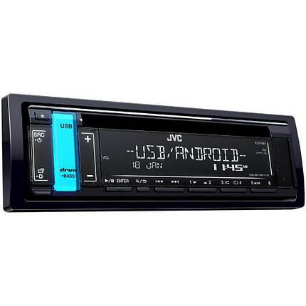 CD/MP3-ресивер JVC KD-R491, фото 2