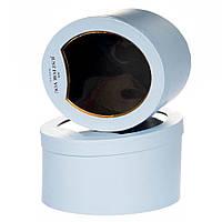 Комплект коробок с прозрачным окном 2 шт 00074J/blue