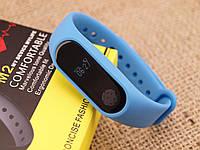 Фитнес браслет MiBand M2 Влагозащищенный Пульсометр+Шагомер+Счетчик калорий+Часы