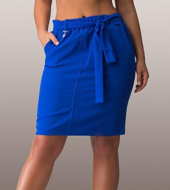 Оригинальная синяя юбка 1228
