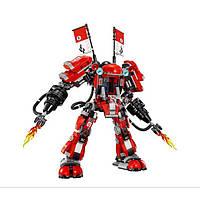 Конструктор 10720 Ninjago Movie ниндзяго муви Огненный робот Кая 980 дет