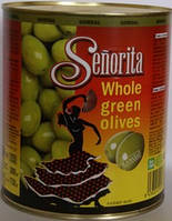Оливки зеленые Сеньорита гигантские с косточкой