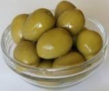 Оливки зеленые Иберика с косточкой