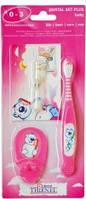 Набор зубная щетка+песочные часы+держатель для щетки Thienel Dental 0-3 лет