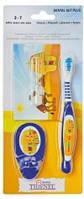 Набор зубная щетка+песочные часы+держатель для щетки Thienel Dental 3-7 лет