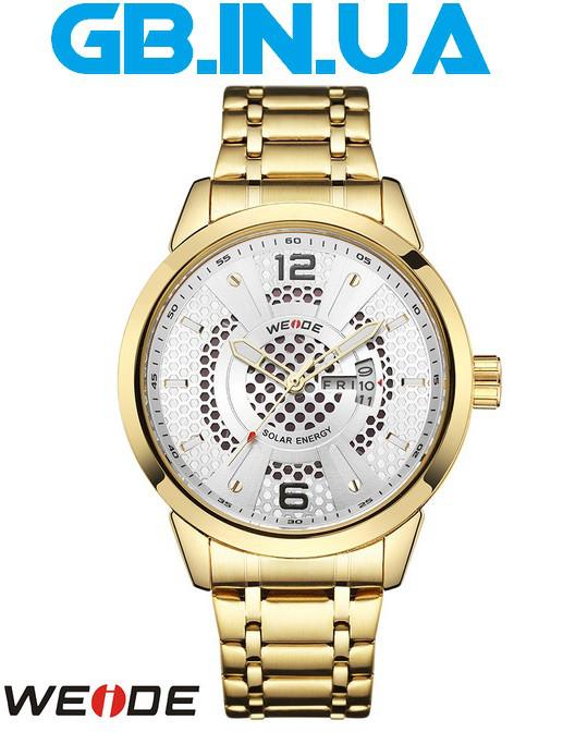 Мужские Часы Weide Energy Gold 1 ГОД ГАРАНТИИ! (+Видео) — в ... 180a2e09274