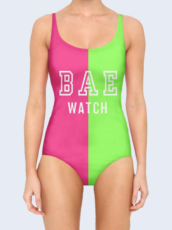 Купальник Bae watch pink 2835edbbb9403