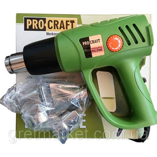 Фен промышленный PROCRAFT PH-2300E