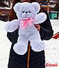 М'яка іграшка ведмедик Раф 50 см, кольори в асортименті на вибір