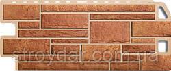 Цокольный сайдинг Альта-Профиль Камень цвет Бежевый, Жженый, Белый, Серый