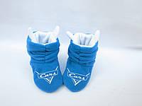 Тапочки «Коты» Cars голубо белые_склад 34-35(2)