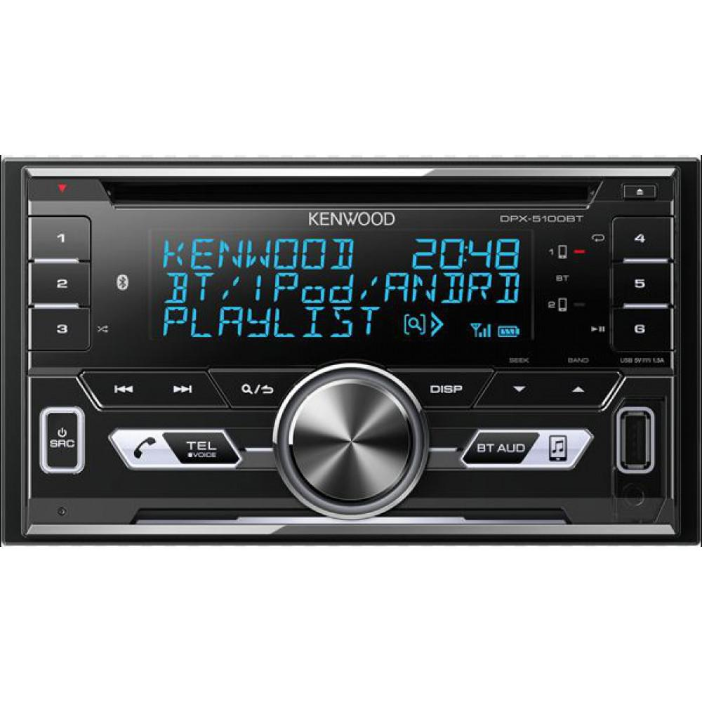 CD/MP3-ресивер Kenwood DPX-5100BT
