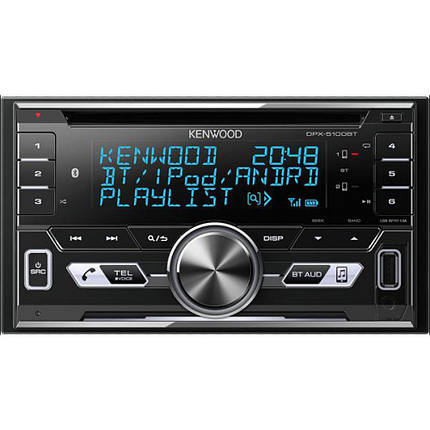 CD/MP3-ресивер Kenwood DPX-5100BT, фото 2