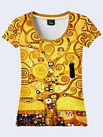 Женсая футболка Климт Дерево жизни