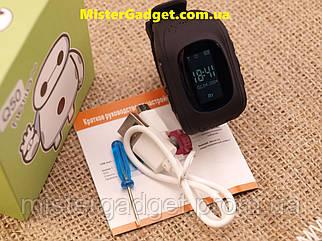 Дитячі годинник Smart Baby Watch Q50 GPS Чорні з GPS
