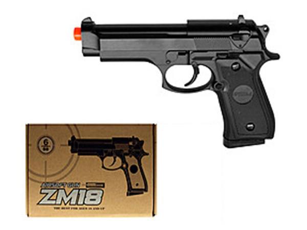 Игрушечное оружие Пистолет CYMA ZM18 металлический