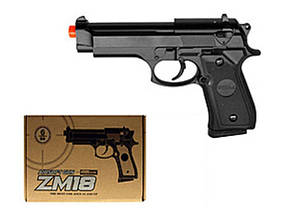 Іграшкова зброя Пістолет CYMA ZM18 металевий