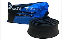 Велокамера 26x1.95, 26x2.125 Deli Tire AV, 50-559