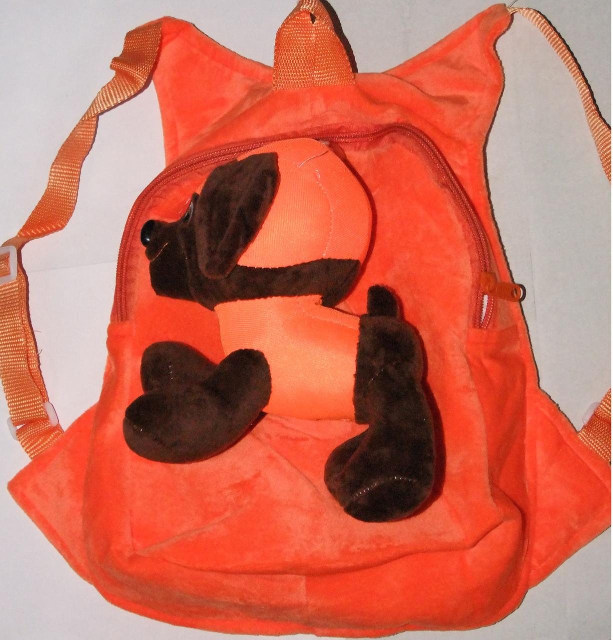 Рюкзак Щенячий патруль собачка Зума оранжевый арт 10-22.