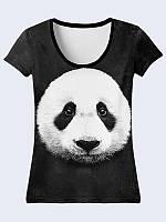 Женсая футболка Бамбуковый мишка
