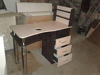 Маникюрный стол Двойная столешница