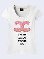 Женсая футболка Creme de la creme