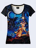 Женсая футболка Star Wars poster