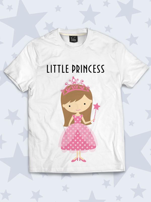 Детская футболка Маленькая принцесса