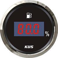 Указатель уровня топлива Wema/Kus, цифровой, черный, Ø 52 мм, CEFR-BS-4-20