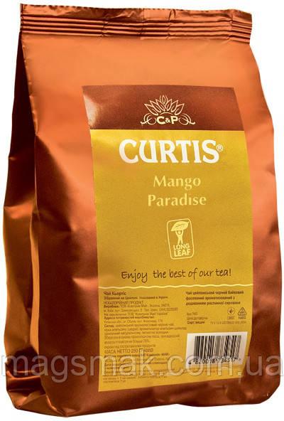 Чай зеленый с добавками крупнолистовой Curtis Mango Paradise 250 г