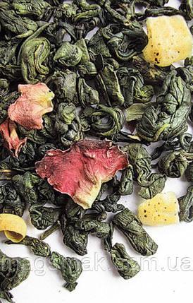 Чай зеленый с добавками крупнолистовой Curtis Mango Paradise 250 г , фото 2