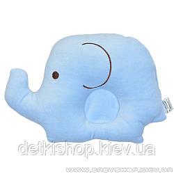 Подушка для новонароджених «Слоненя» (блакитна)